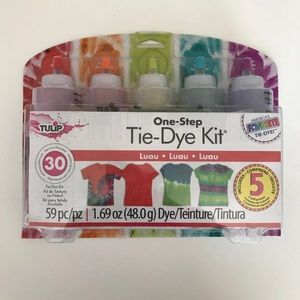 Tulip One Step Tie-Dye Kit Luau 5 colors New!